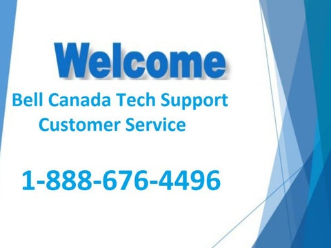 How to Contact Bell Canada Tech Support 1-888-676-4496 Phone