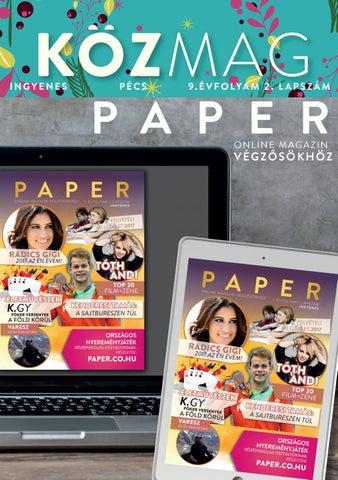 """Cover of """"KÖZMAG Pécs Karácsony - 2016. December"""""""
