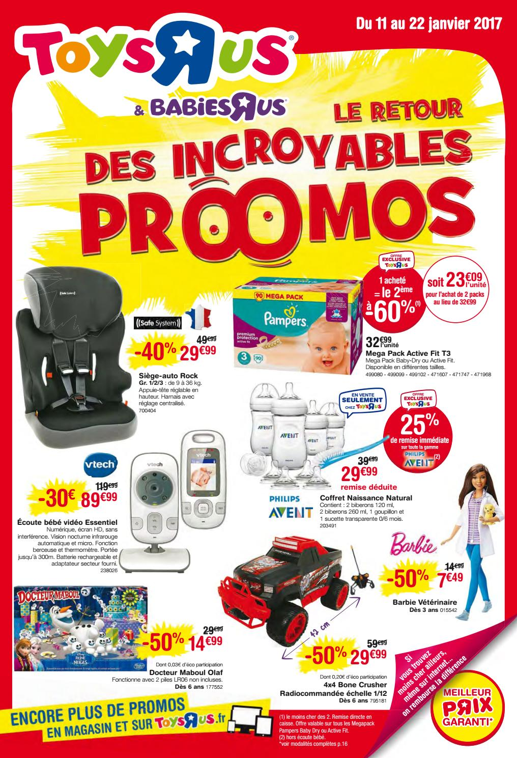 Babies'r'us Puériculture Yvernault Catalogue 2017 Toys'r'us By Bébé 0Pwk8nO