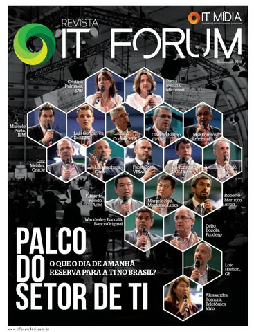a7017fbead Palco do Setor de TI by ITF 365 - issuu