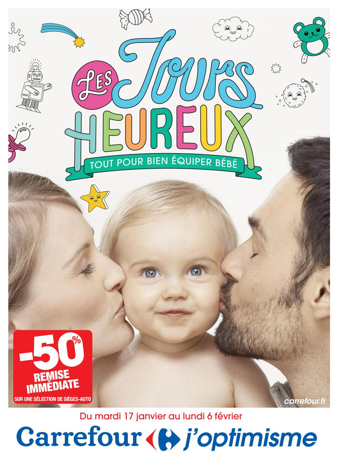 bb93cd6fecd75 Catalogue spécial bébé 2017 Carrefour by Yvernault - issuu