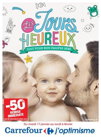 Catalogue spécial bébé 2017 Carrefour by Yvernault - issuu 9745e3c545e