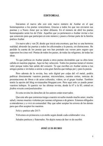 Azahar By La Tinta Invisible Editores Issuu