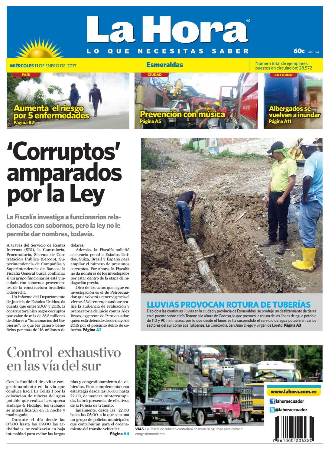Esmeraldas 11 de enero by Diario La Hora Ecuador - issuu f0145a83d1105