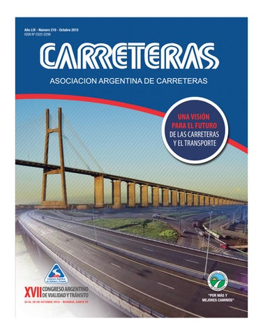 6a183ce490 Carreteras 219 by Asociación Argentina de Carreteras - issuu