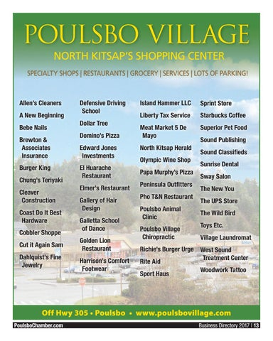 Poulsbo Chamber Directory - 2017 Poulsbo Chamber of Commerce