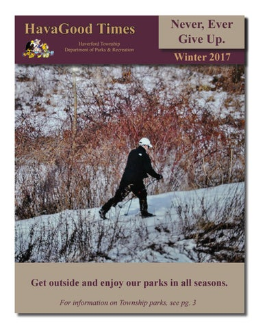 Hgt winter 2017 by haverford recreation issuu page 1 fandeluxe Choice Image