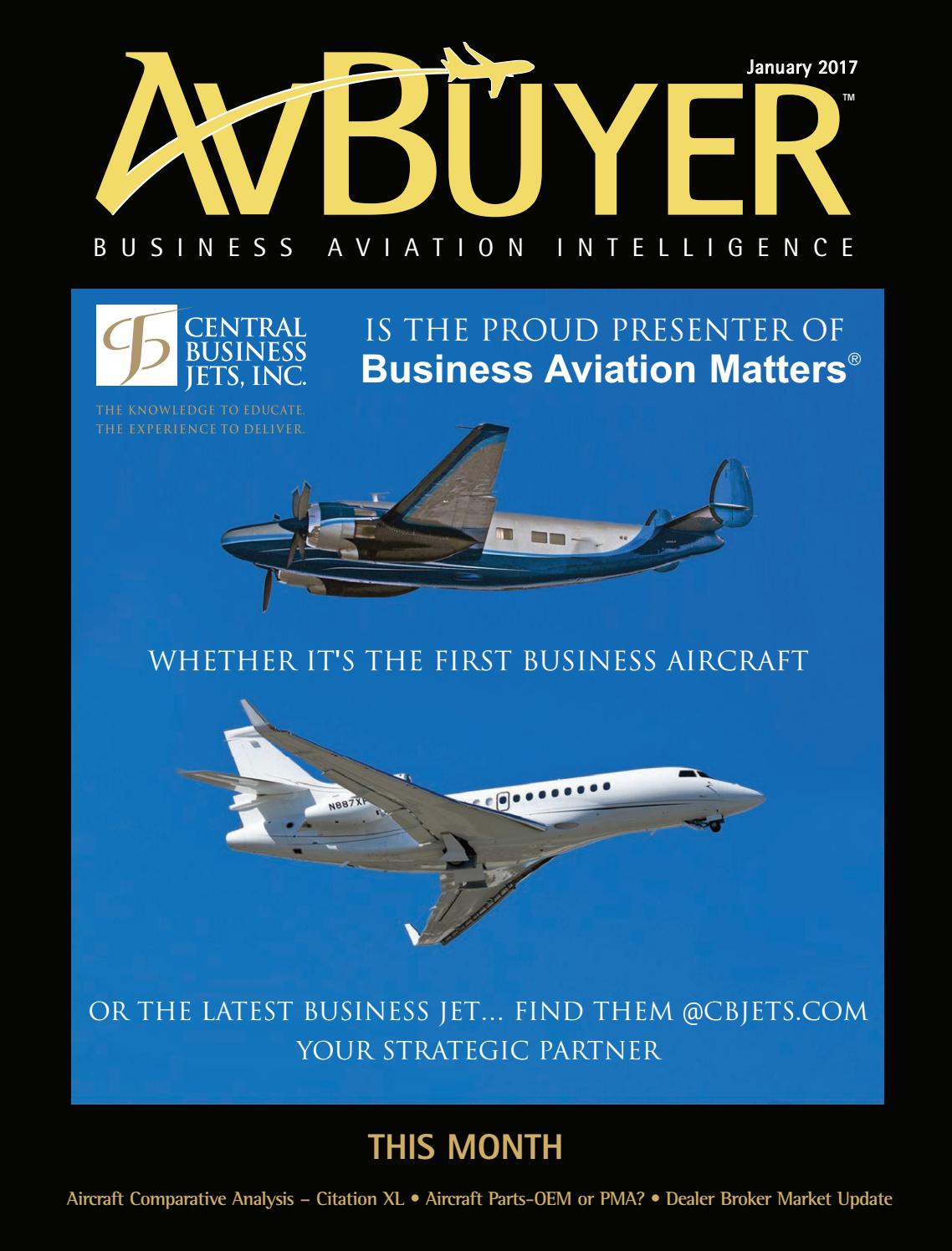 AvBuyer Magazine January 2017 by AvBuyer Ltd  - issuu
