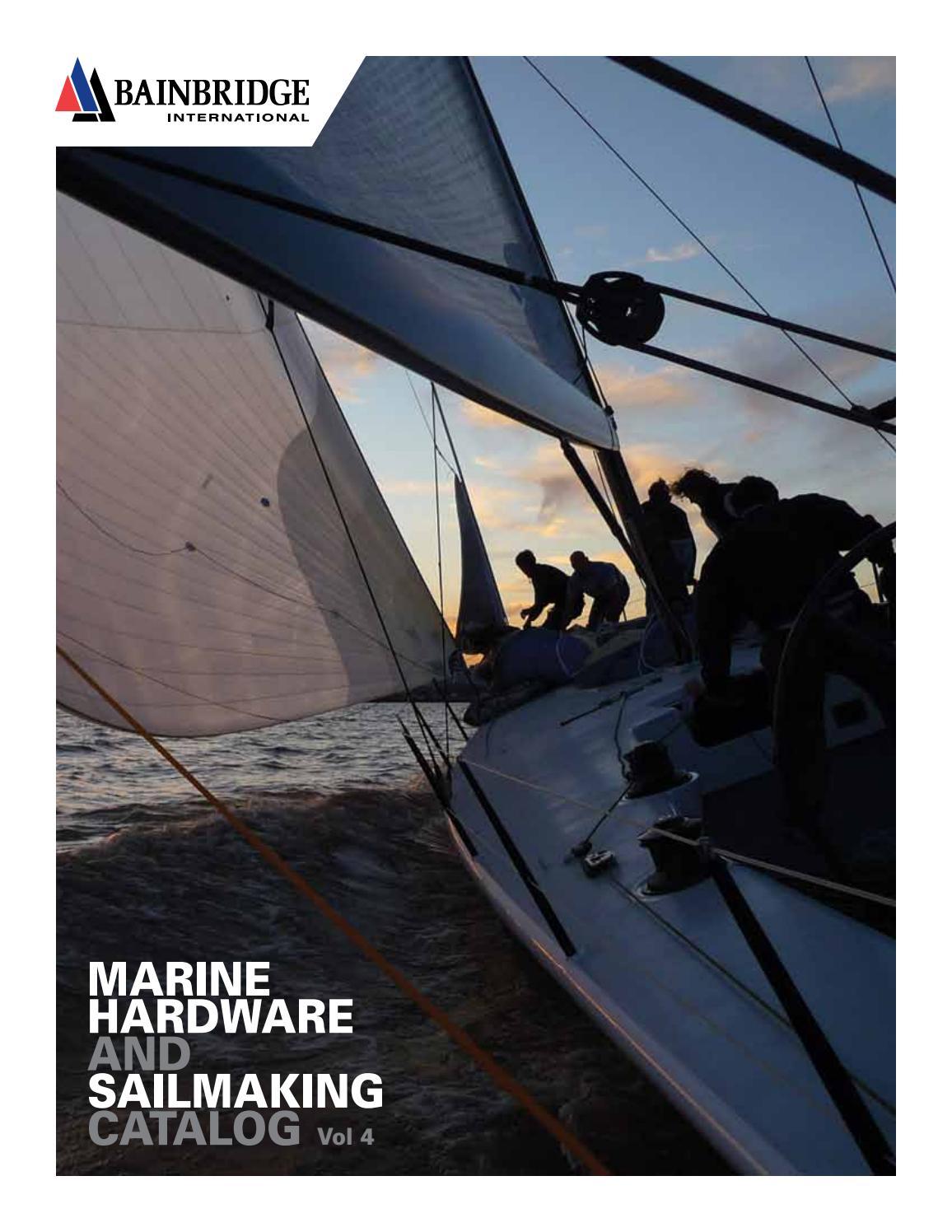 """Sailboat Main Sail 7//8 /"""" wide Mast Track Slides A009 NEW STRONG SAILING HARDWARE"""
