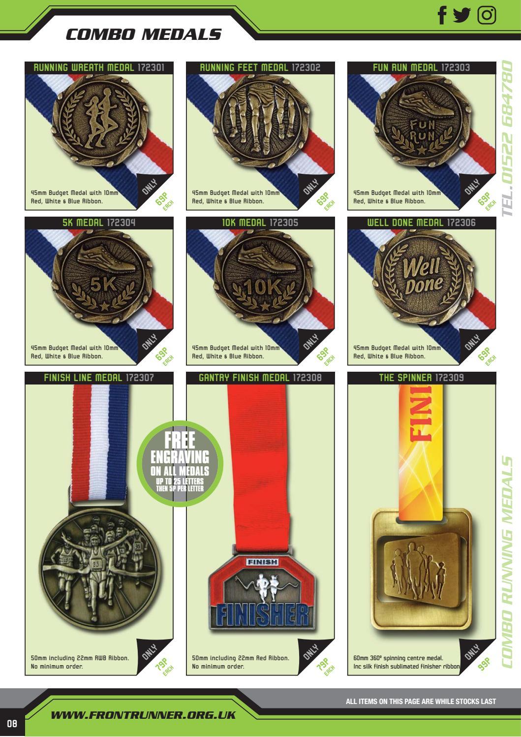 Frontrunner Medals Brochure 2017 by PaulStafford - issuu