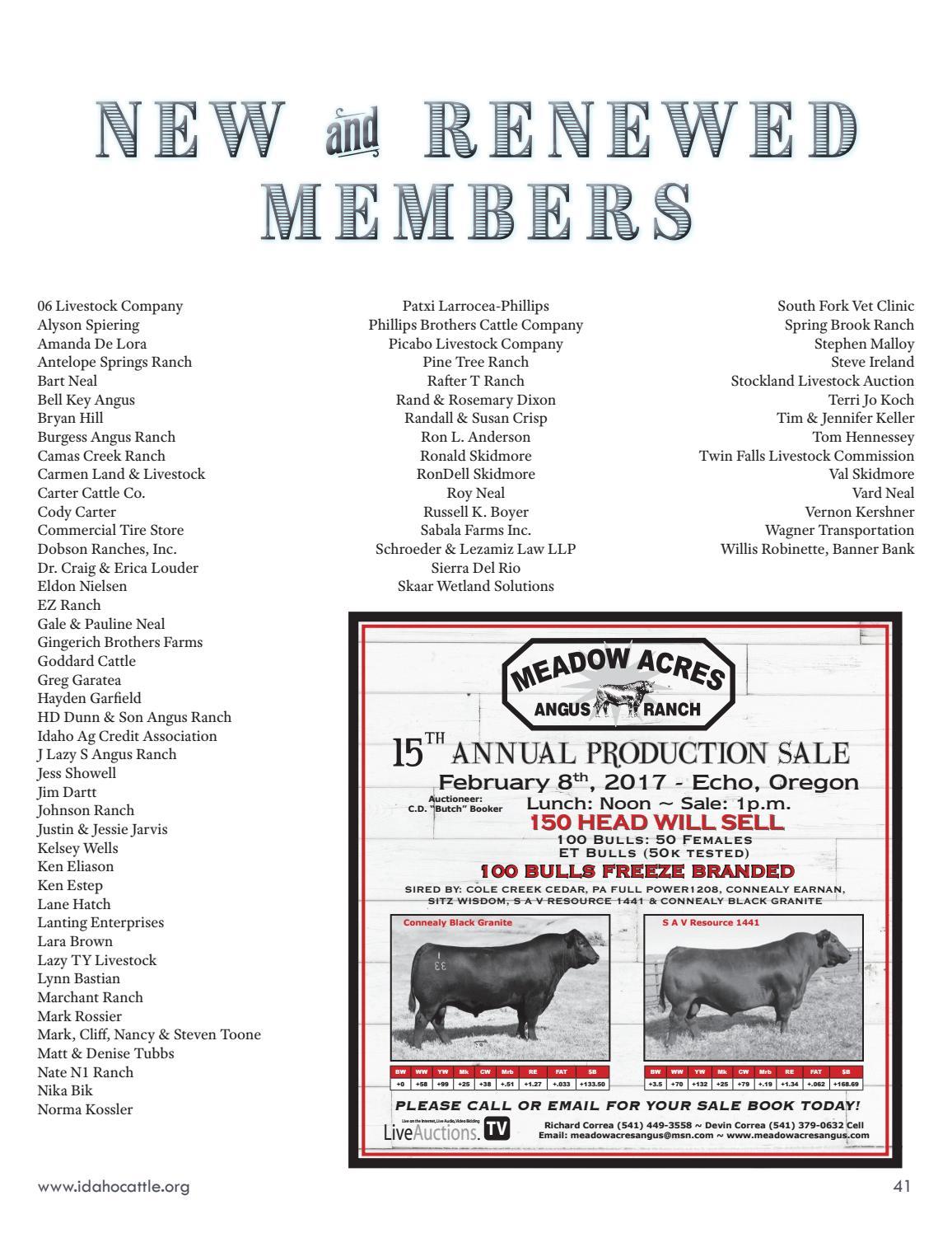 January 2017 Line Rider by Idaho Cattle Association - issuu
