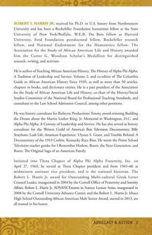 Alpha Phi Alpha: Advocacy & Action by Alpha Phi Alpha Fraternity - issuu