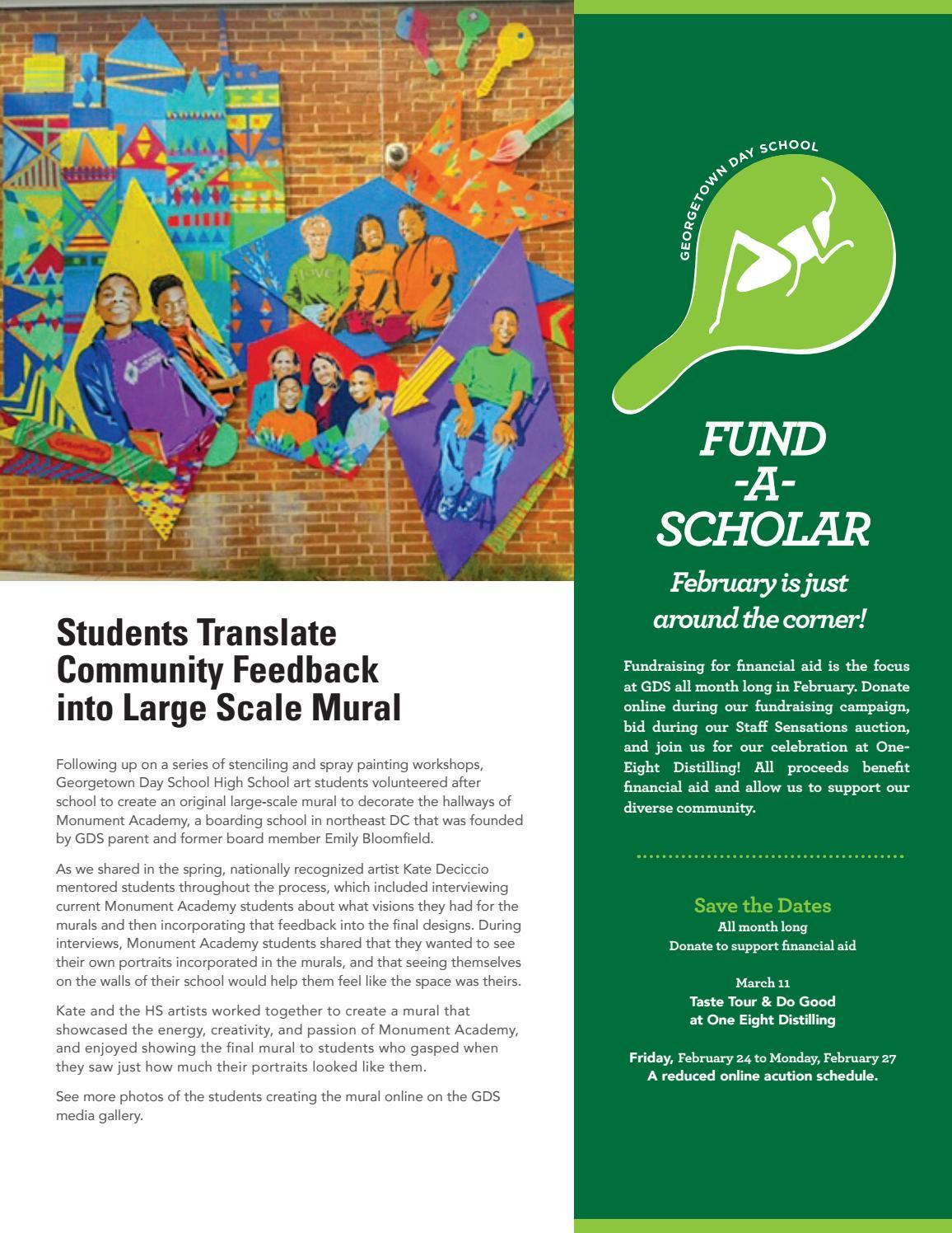 Georgetown Financial Aid >> Georgetown Days Winter 2016 17 By Think Issuu
