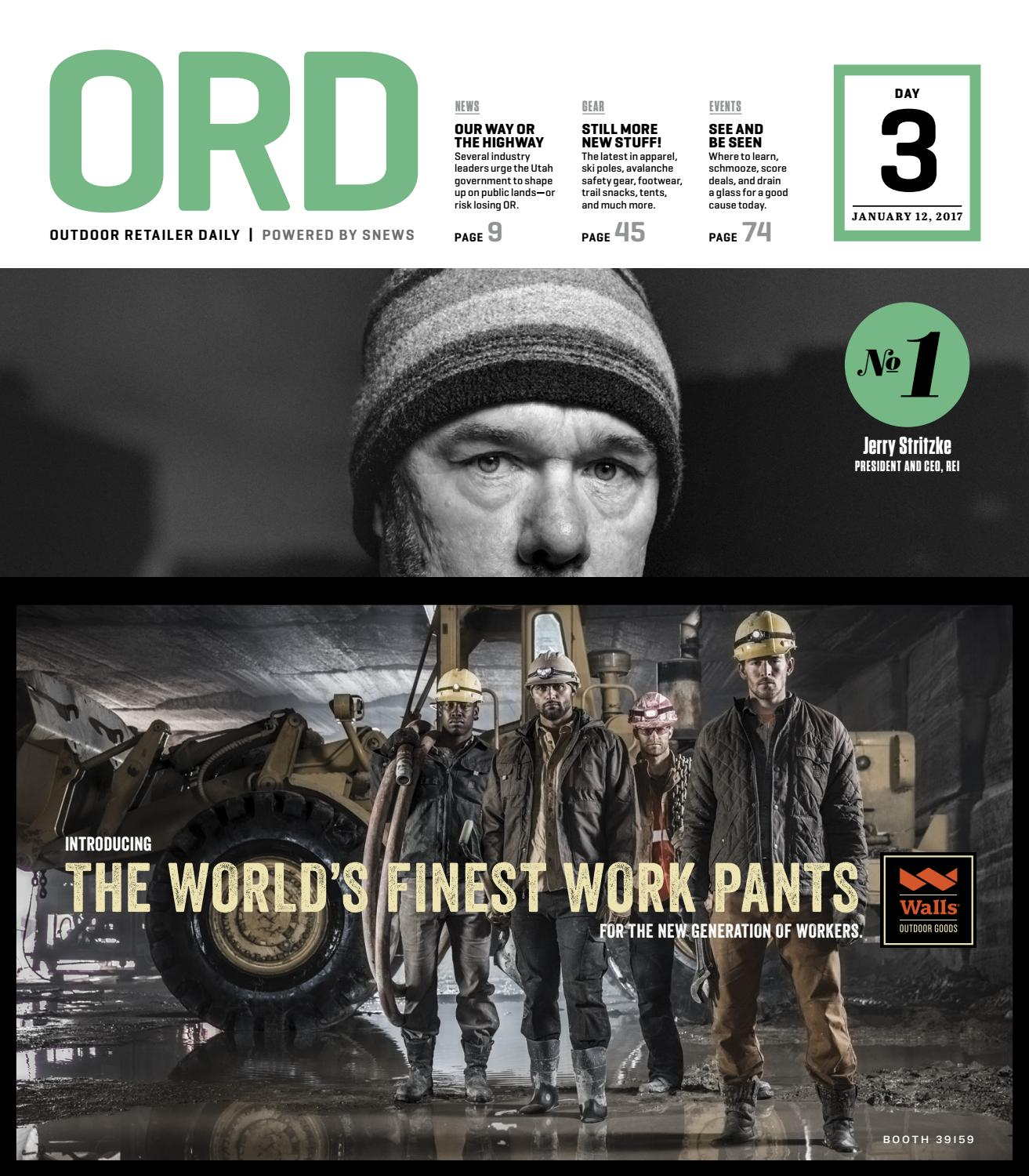 Outdoor Retailer Daily_Day 3 WINTER 2017 by Active Interest Media-Boulder -  issuu
