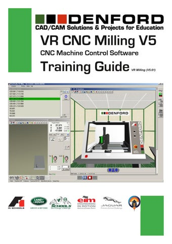 VR CNC Milling V5 Training Guide by F1 In Schools Thailand - issuu