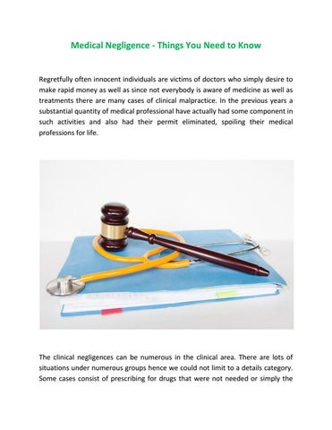 Knowing The 4 Components Of Negligence Cases