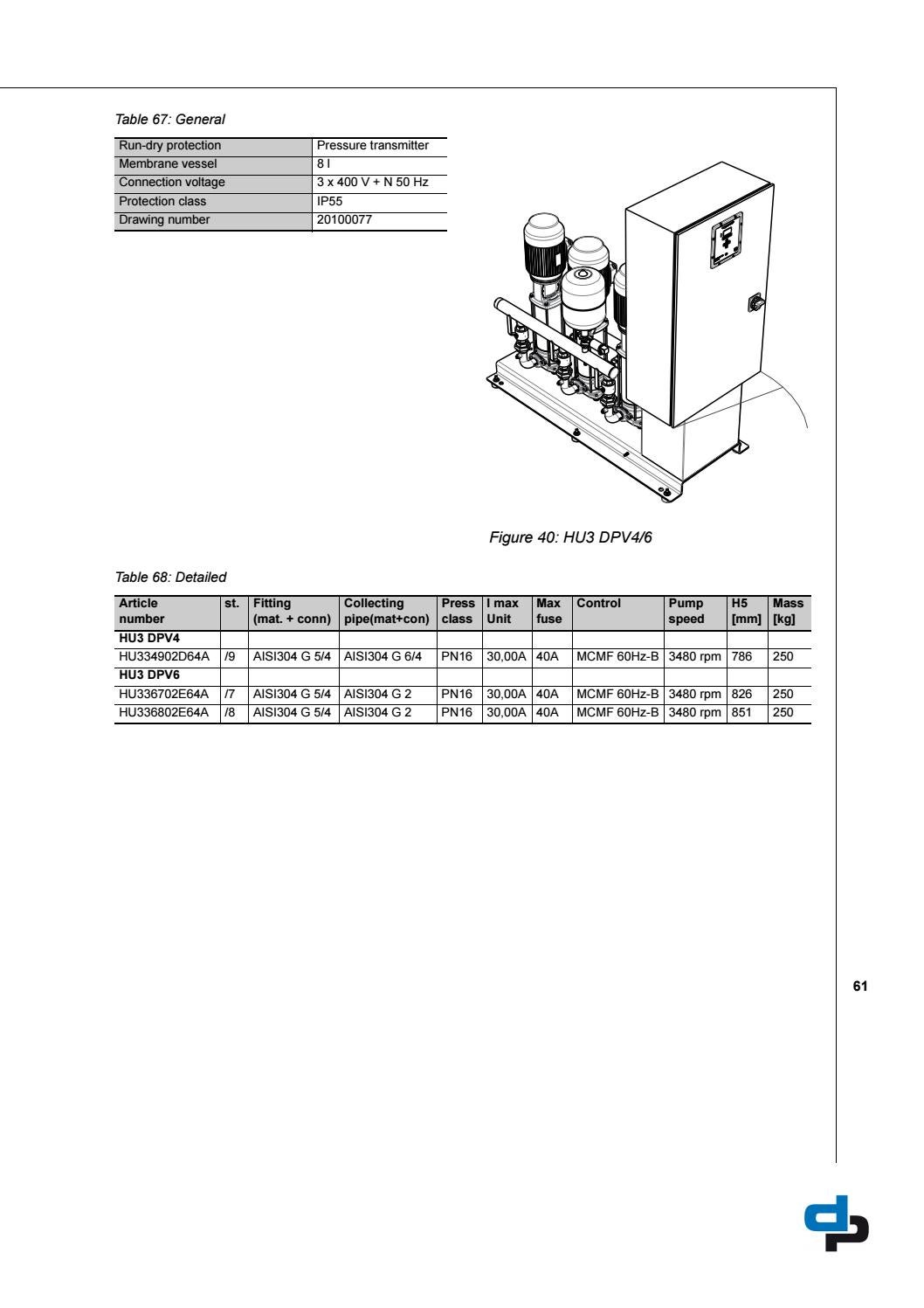 hydro unit utility line booster systems technical data dp pumps by rh issuu com
