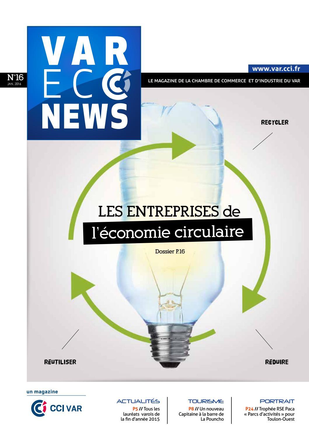 Var econews n 16 by cci du var issuu - Chambre de commerce et d industrie nice cote d azur ...