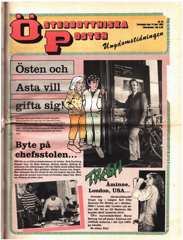 premium selection c4ccb de22f Österbottniska Posten (ÖP) nr. 24 1985 by Österbottniska Posten - issuu