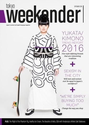 b794eae5f50539 Tokyo Weekender - September 2016 by Tokyo Weekender Magazine - issuu
