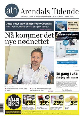 acaf01991 Arendalstidende 20141010 000 00 00 by Tvende Media AS - issuu
