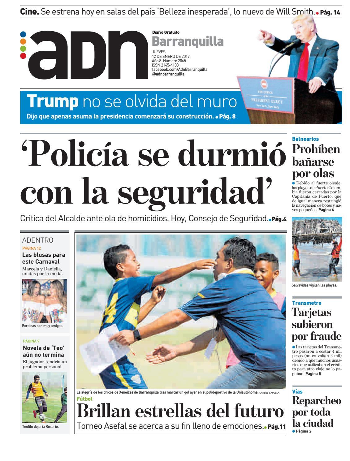 ADN Barranquilla 12 de enero de 2016 by diarioadn.co - issuu