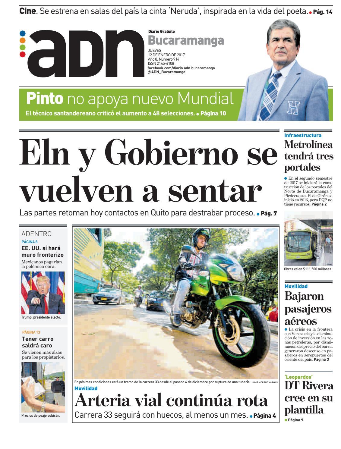 Adn bucaramanga 12 by diarioadn.co - issuu