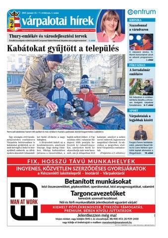 Várpalotai Hírek - 2017. 01. 13. by Maraton Lapcsoport Kft. - issuu 56d3213eef