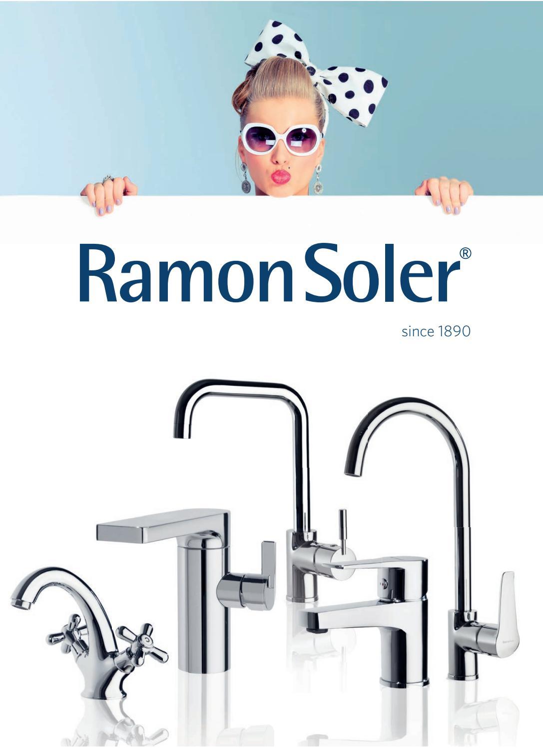 Arola Ramon Soler 226536 Termost/ático de Ba/ño-Ducha con inversor Integrado en Mando caudal en Acabado Cromado