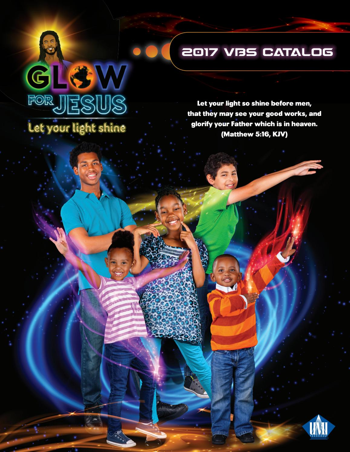 Image result for glow for jesus vbs 2017