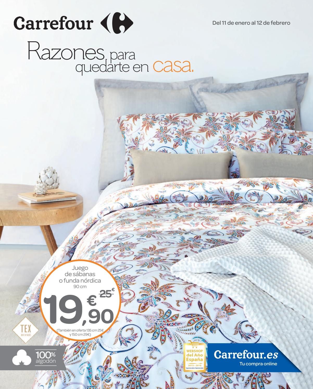 Somier Cama 90 Carrefour.Carrefour Razones Para Quedarte En Casa By Ofertas Supermercados