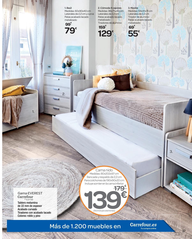 Somier Nido Alcampo.Carrefour Razones Para Quedarte En Casa By Ofertas Supermercados