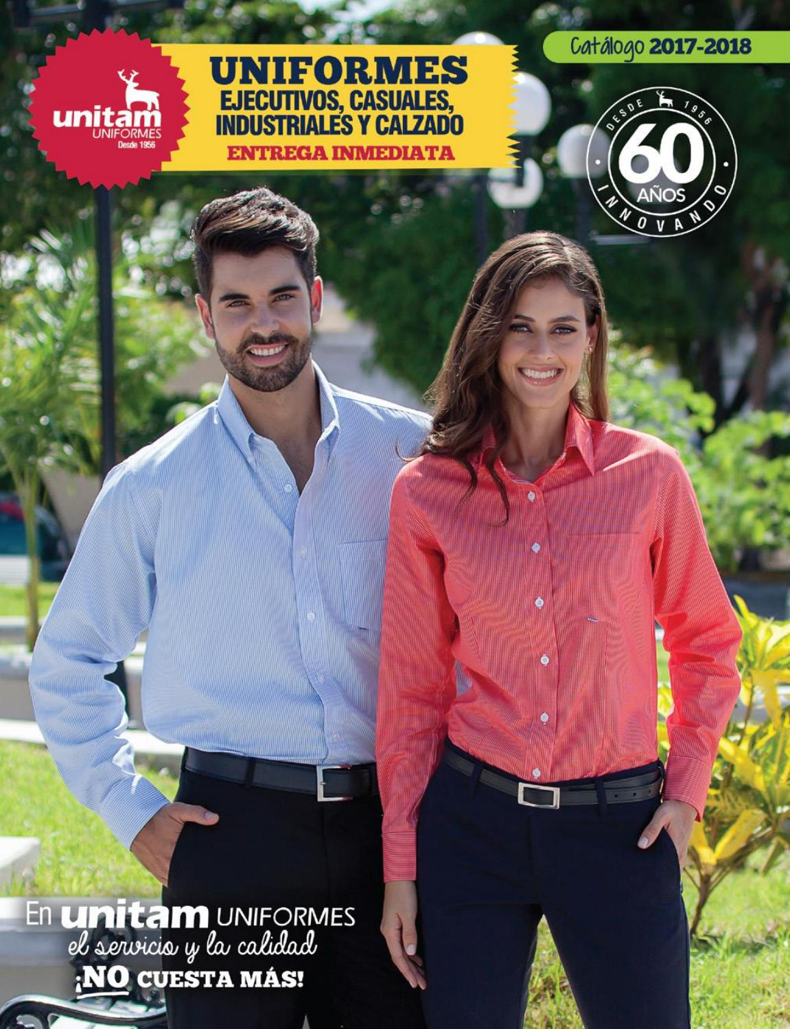 Catalogo unitam uniformes 2017 2018 by unitam uniformes for Catalogo bricoman elmas 2017