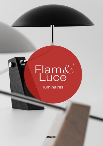 flam luce luminaires jan 2017 catalogue by flam luce byclassy issuu. Black Bedroom Furniture Sets. Home Design Ideas