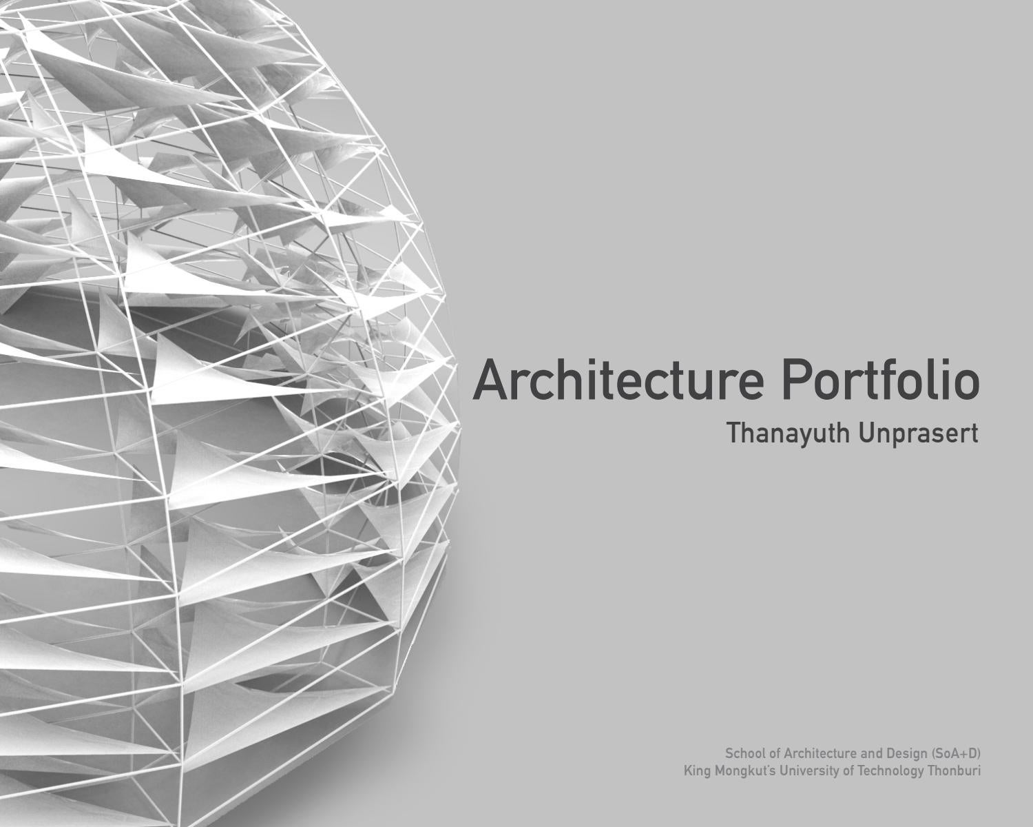 peam thanayuth architecture portfolio by peam thanayuth