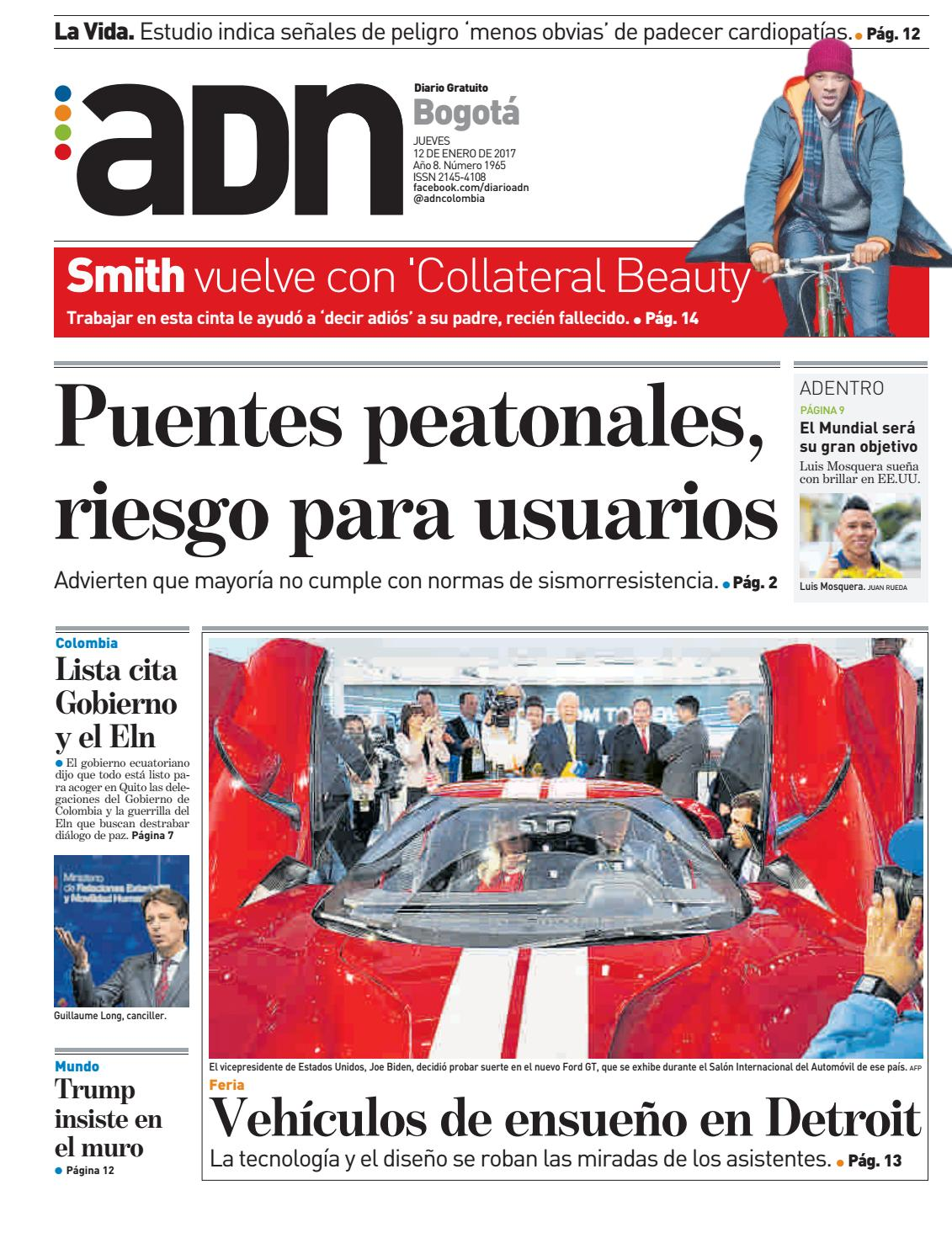 Adn bogota by diarioadn.co - issuu
