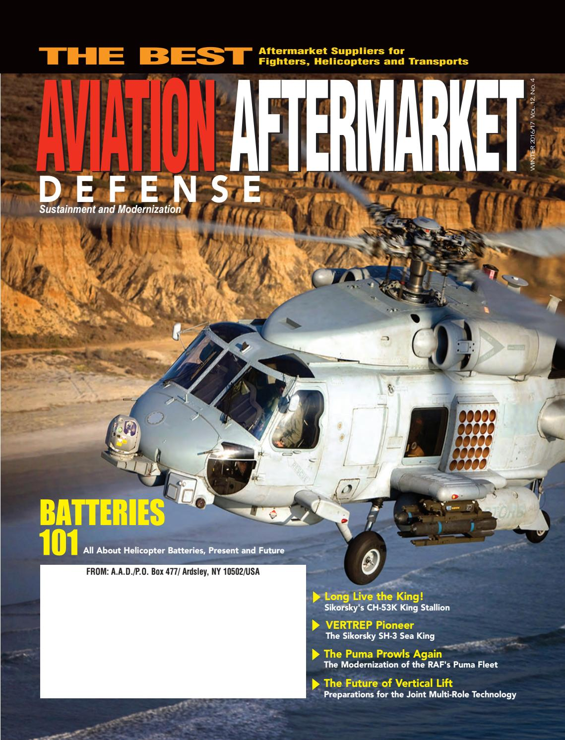 Aviation Aftermarket Defense - AAD (Winter 2016) by ABD