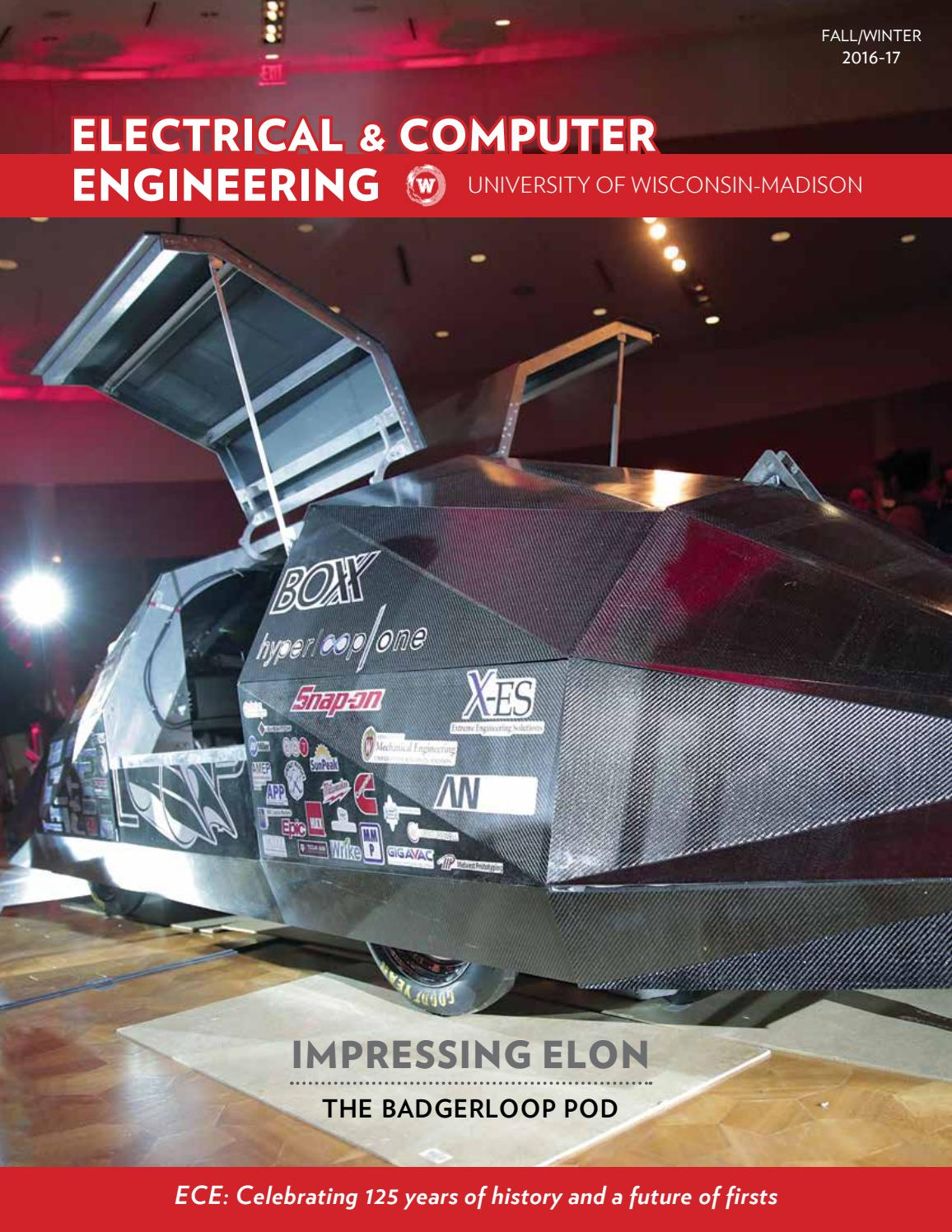 Uw Madison Electrical And Computer Engineering News Fall 2016 By Todd Schematics College Of Issuu