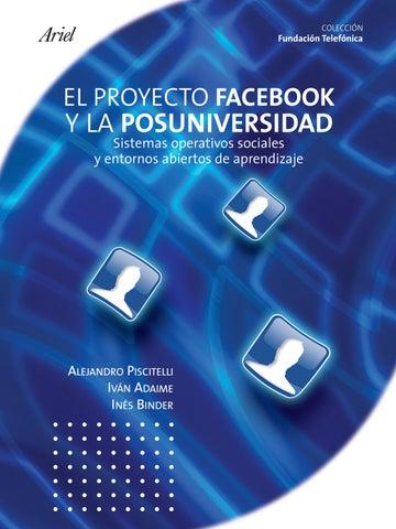 El proyecto facebook y la Posuniversidad by Jaime Espinoza Cruzado ... 21f5a2e273f