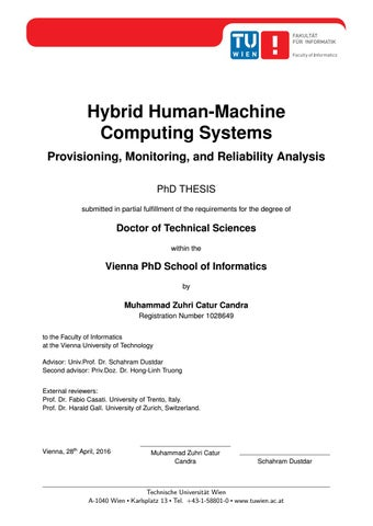 Hybrid Human Machine Computing Systems Provisioning Monitoring