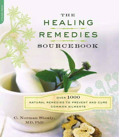 Norman shealy the healing remedies sourcebook %282012%29 by