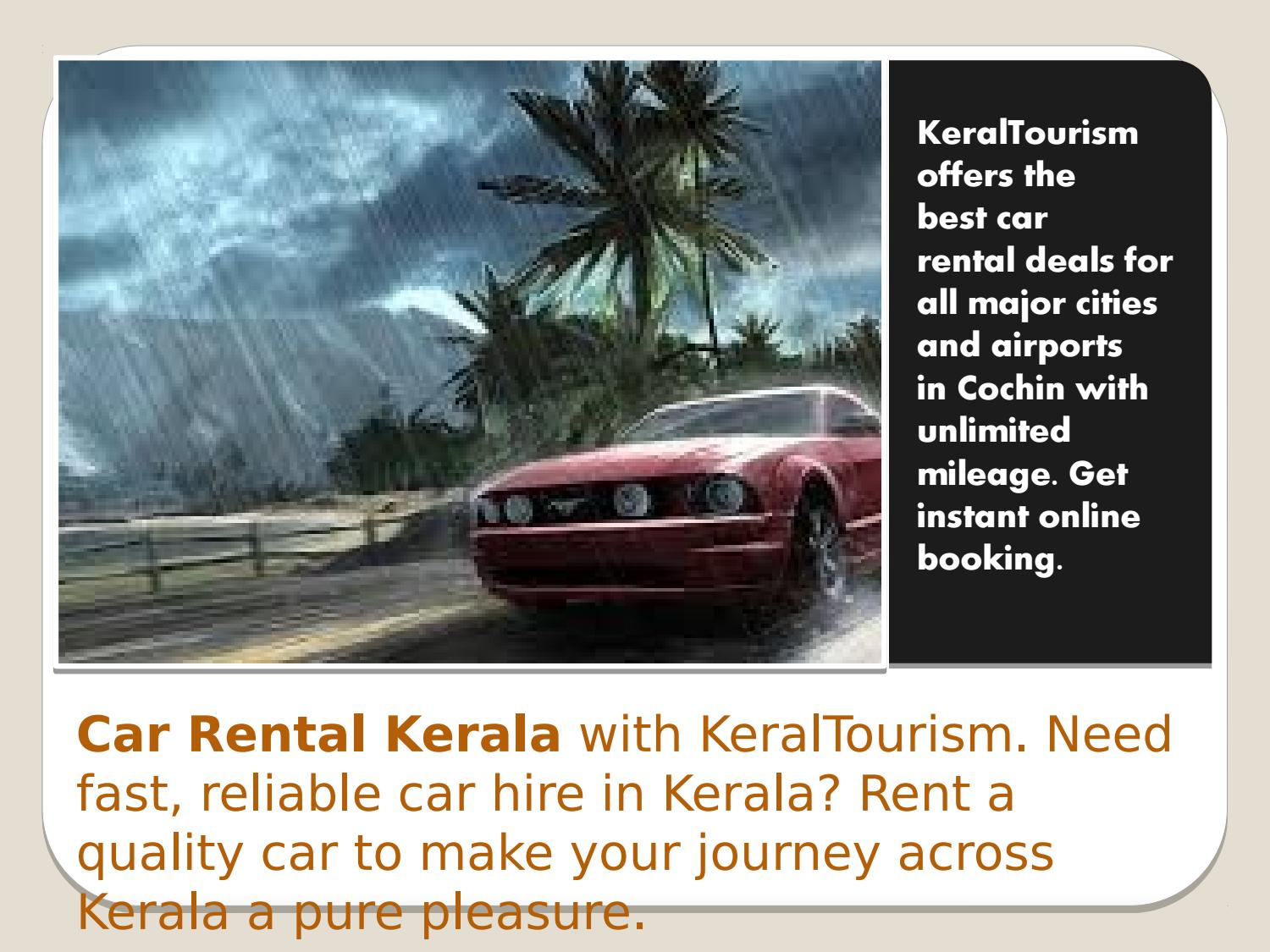 Car Rental Quotes Book A Economy Car Rental From National Car Rental In Kerala.