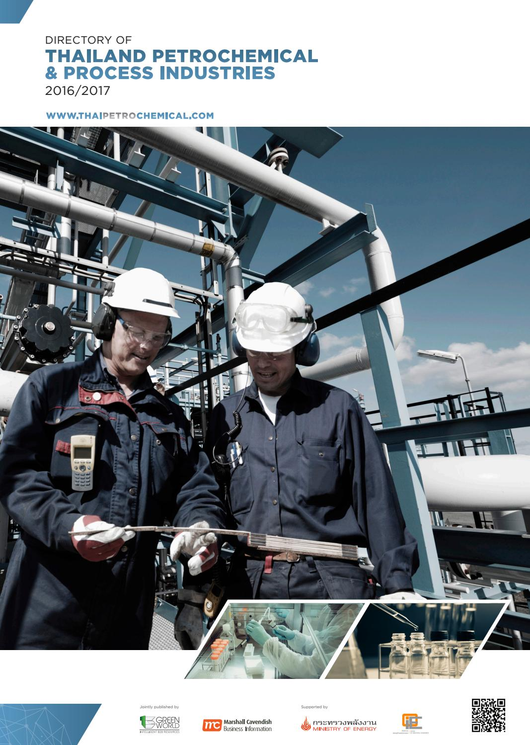 Directory of Thailand Petrochemical & Process Industries