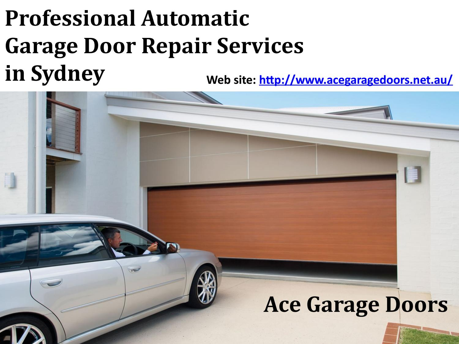 Professional Automatic Garage Door Repair Services In Sydney By