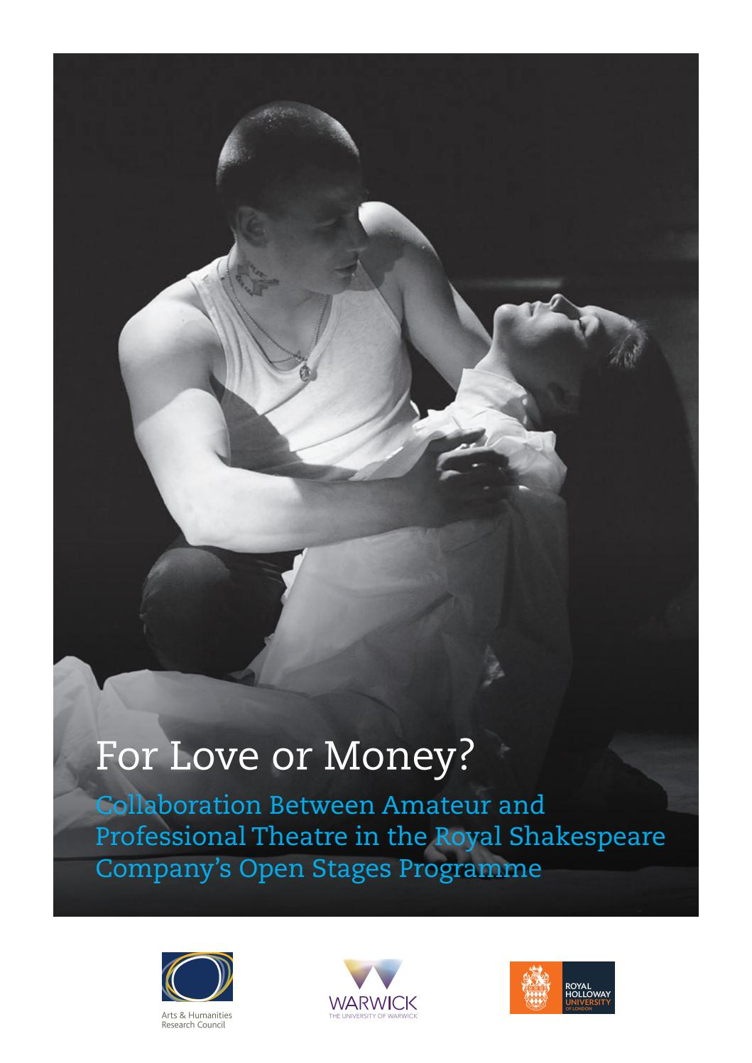 amateur drama research researching the royal shakespeare company open stages programme