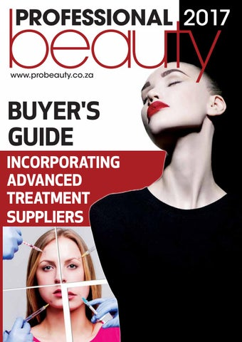 945d874c214 Pro Beauty Buyers Guide 2017 by Professional Beauty SA - issuu