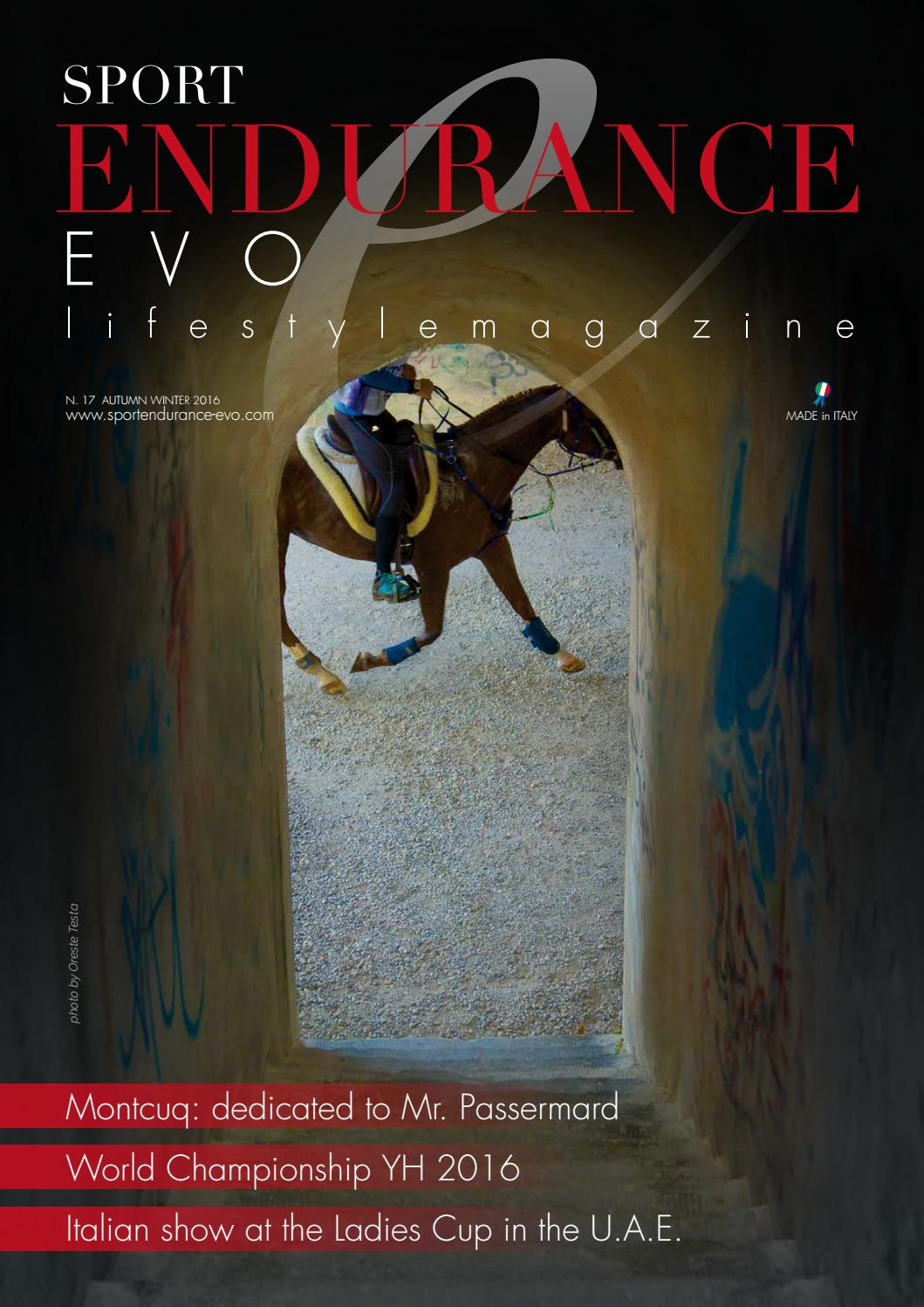 Sport Endurance EVO Issue 17 Autumn Winter Edition 2017 By Sport
