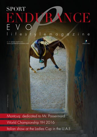 Sport Endurance EVO issue 17 Autumn/Winter edition 2017 by Sport
