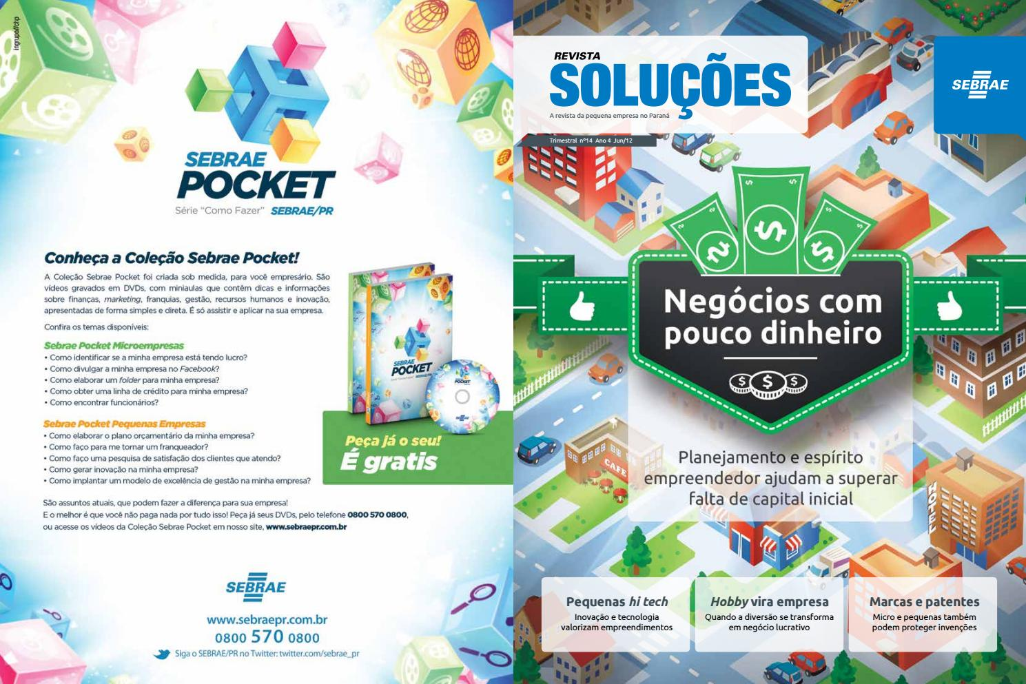 763f301aa66d0 Revista Soluções - Edição 14 by Sebrae Paraná - issuu