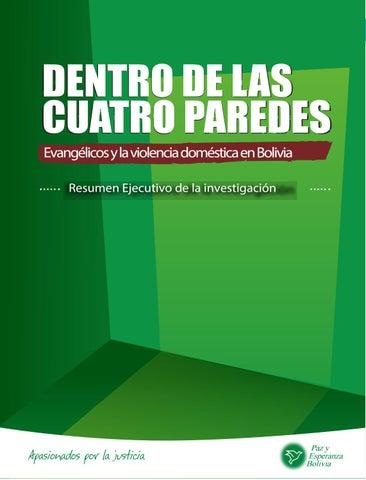 Libro Detras De Las Cuatro Paredes Bolivia By Kevin Issuu